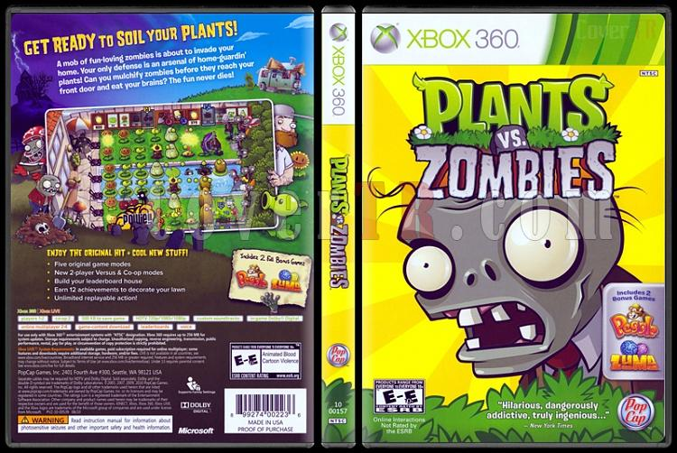 Plants vs Zombies - Scan Xbox 360 Cover - English [2010]-plants-vs-zombiesjpg