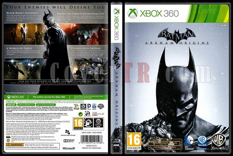 Batman: Arkham Origins - Scan Xbox 360 Cover - English [2013]-batman-arkham-originsjpg