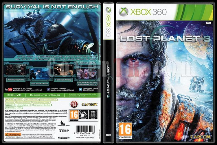 Lost Planet 3 - Scan Xbox 360 Cover - English [2013]-onizlemejpg
