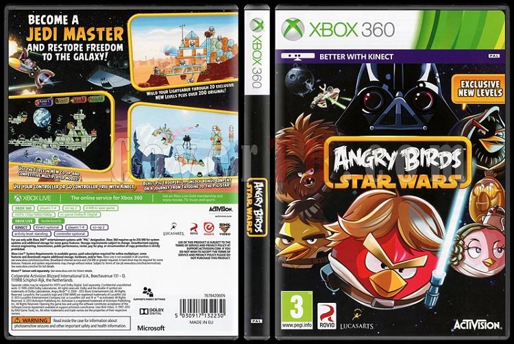 Angry Birds: Star Wars - Scan Xbox 360 Cover - English [2013]-onizlemejpg