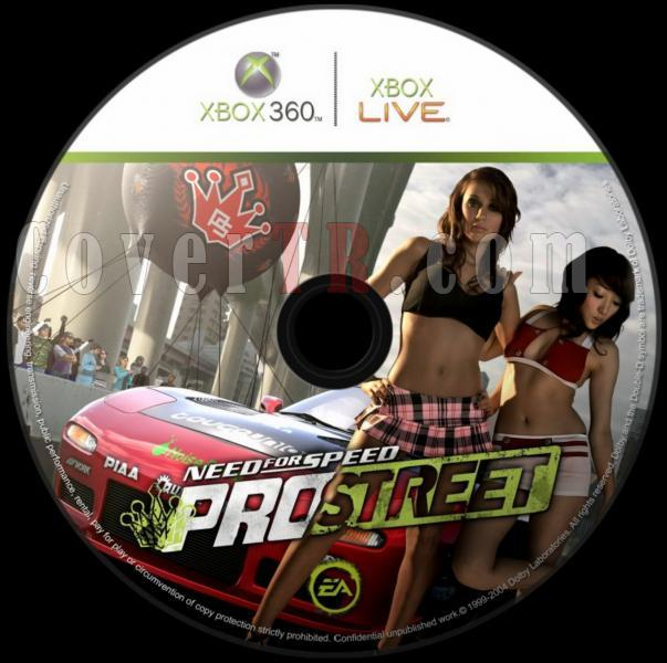 Need for Speed ProStreet - Dvd Label-need_for_speed_prostreet_dvd_label4jpg