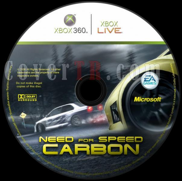 Need For Speed Carbon - Custom Xbox 360 Dvd Label - English [2006]-need_for_speed_carbon_dvd_labeljpg