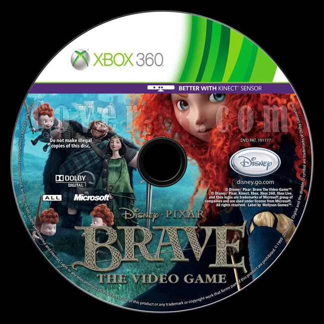 Brave: The Video Game - Custom Xbox 360 Label - English [2012]-brave-video-gamejpg