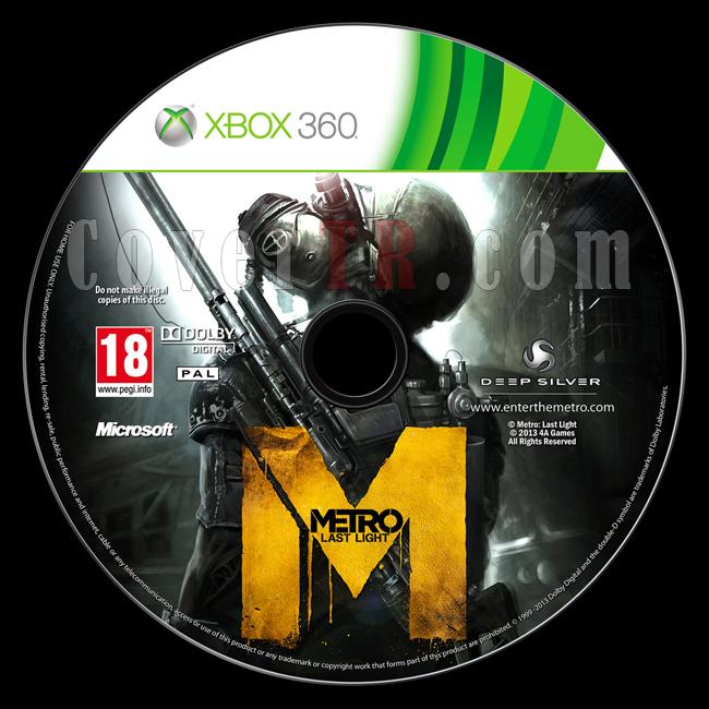 Metro: Last Light - Custom Xbox 360 Label - English [2013]-onizlemejpg