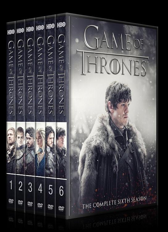 Game Of Thrones Seasons 1 7 Custom Dvd Cover Set