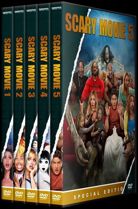 Covertr View Single Post Scary Movie Korkunc Bir Film Custom Dvd Cover Set English 2000 2013