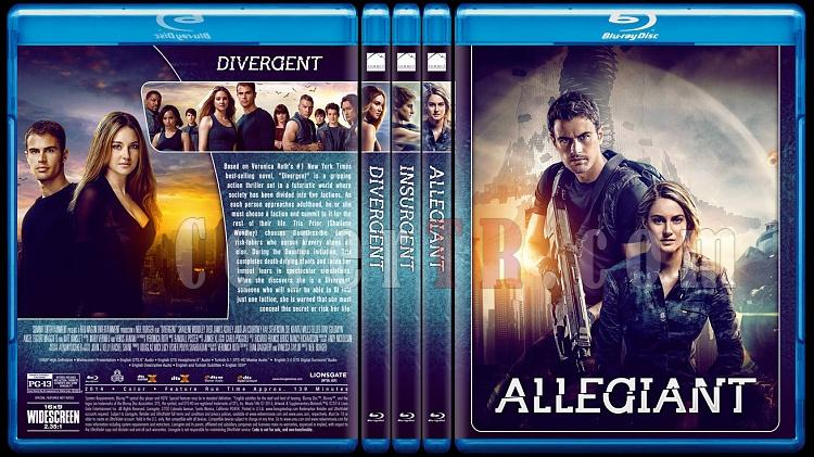 The Divergent Series - Custom Bluray Cover Set - English