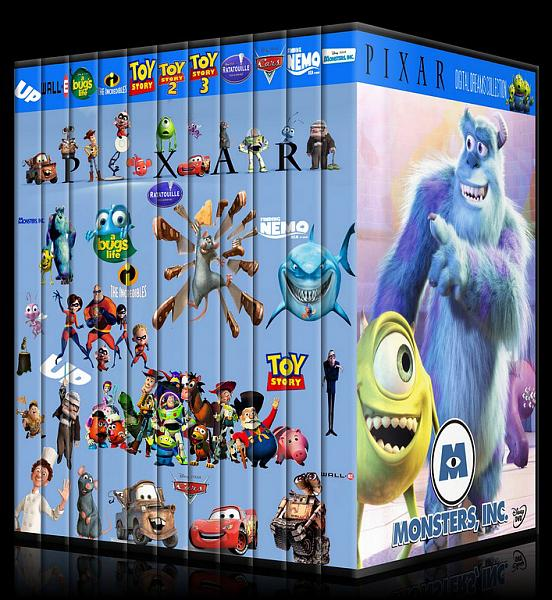 Cars 1 Full Movie In English >> Pixar (Collection) - Dvd Cover Set - English - CoverTR