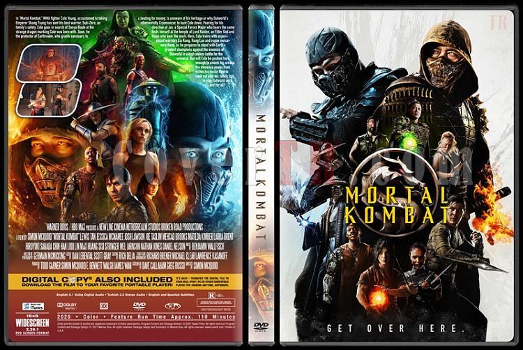 Mortal Kombat - Custom Dvd Cover - English 2021 - CoverTR