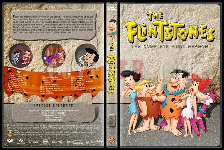 The Flintstones Tas Devri Seasons 1 6 Custom Dvd Cover Set